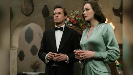 Brad Pitt y Marion Cotillard promocionan juntos