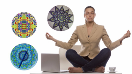 Pintar mandalas: una nueva forma de meditar