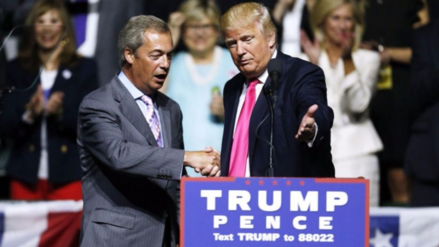Donald Trump quiere al impulsor del Brexit como embajador británico en EE.UU.
