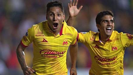 Raúl Ruidíaz hizo historia con el equipo de Monarcas Morelia