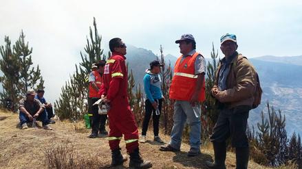 Áncash: incendio forestal en Pallasca fue controlado