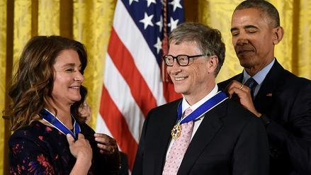 Barack Obama condecoró a intelectuales, artistas y deportistas