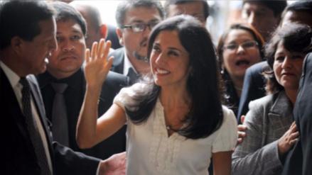 Nadine Heredia viajó a España tras ser nombrada funcionaria de la FAO