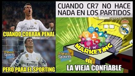 Real Madrid venció al Sporting de Lisboa, pero igual es blanco de memes