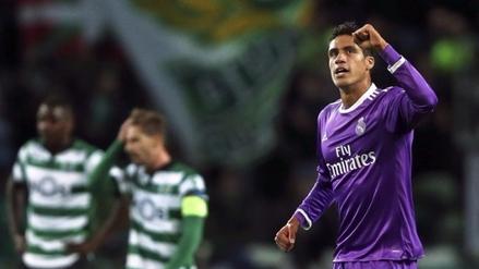 Real Madrid venció 2-1 al Sporting de Lisboa y avanzó a octavos de final