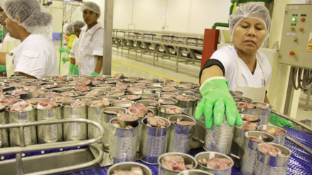 Producción de conservas de recursos pesqueros caería 2.1% este año