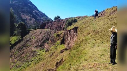 Falla geológica de Lluscapampa dejaría sin agua a Cajamarca