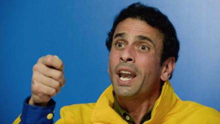 Capriles acusó al gobierno de Maduro de abandonar la mesa de diálogo