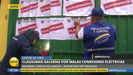 Municipalidad clausuró galería de Mesa Redonda tras declarar insegura