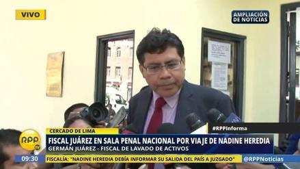 """Germán Juárez: """"Heredia no esperó la respuesta del juez para viajar"""""""