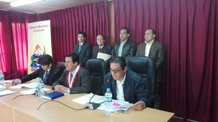 Áncash: Enrique Vargas dará a conocer informe sobre estado del GRA