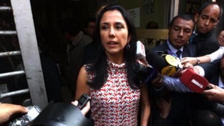 Juez resolverá el viernes si cambia lugar de residencia a Nadine Heredia