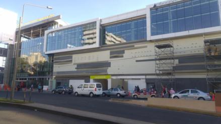 Riesgo moderado y alto presentan mega centros comerciales en Cayma