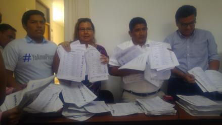 Promotores no lograron firmas para revocar al alcalde de Piura