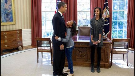 Facebook: la familia Obama deja estas postales de su vida en la Casa Blanca