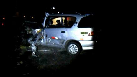 Barranca: un muerto dejó choque entre tráiler y auto en la vía Pativilca
