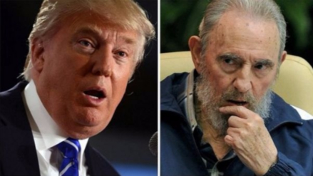 Donald Trump reaccionó a la muerte de Fidel Castro con una escueta frase