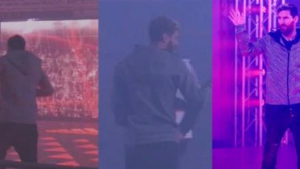 Lionel Messi reventó una pantalla en la presentación de sus nuevos chimpunes