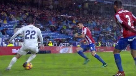 La gran jugada de Isco con huacha incluida que no pudo acabar en gol