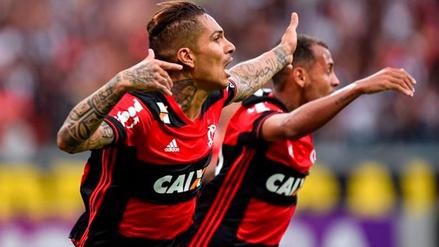Paolo Guerrero anotó un golazo con camiseta del Flamengo