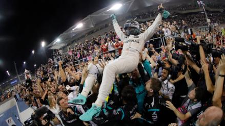 El alemán Nico Rosberg se proclamó campeón del Mundial de Fórmula 1