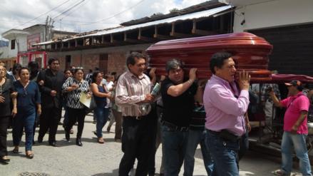 Moyobamba: Ministerio Público rinde homenaje a fiscal asesinado