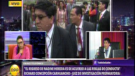 Juez del caso Heredia: