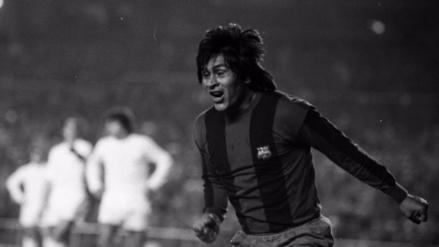 El día que el 'Cholo' Sotil anotó al Real Madrid tras pase de Cruyff