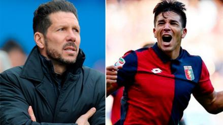 La emotiva imagen que compartió Diego Simeone tras el doblete de su hijo