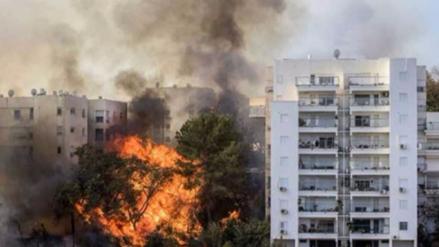 Los incendios en Israel amenazan a distintas colonias en Cisjordania