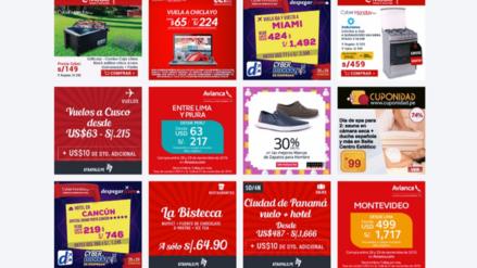 Mira qué descuentos te ofrece el Cyber Monday Perú 2016