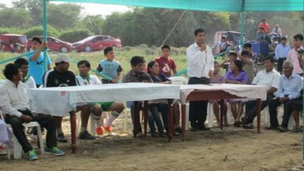 Organizan campeonato de fútbol inter caseríos de la comunidad de Mórrope