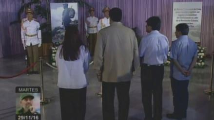 Nicolás Maduro y Evo Morales rindieron tributo a Fidel Castro en la Plaza de la Revolución
