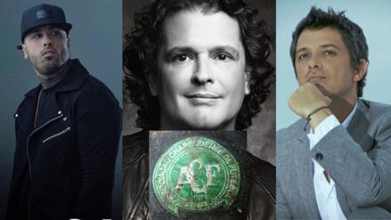 Chapecoense: celebridades se suman a las muestras de dolor por la tragedia área