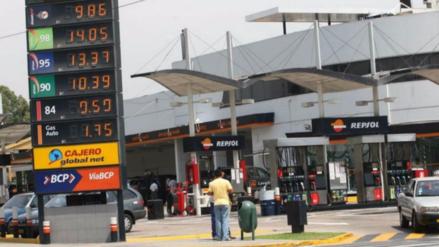Repsol subió hoy precios de combustibles hasta S/0.14 por galón