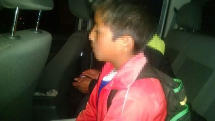 Hallan a menor deambulando por calles de Huancayo