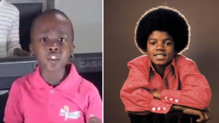Niño con voz de Michael Jackson sorprende en Facebook