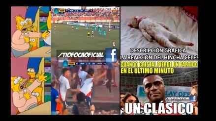 Sporting Cristal es víctima de divertidos memes tras caer 1-0 ante Municipal