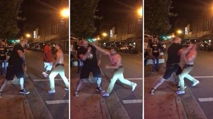 Hombre en estado de ebriedad retó a peleador de MMA