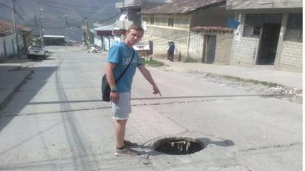 Buzón sin tapa pone en peligro a conductores en Abancay