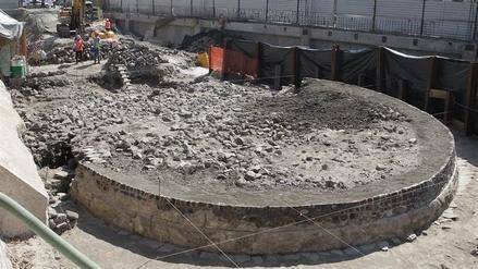 Descubren un templo prehispánico en pleno centro de Ciudad de México