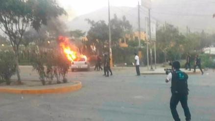 Intento de toma de comisaría en Huaycán dejó una mujer muerta