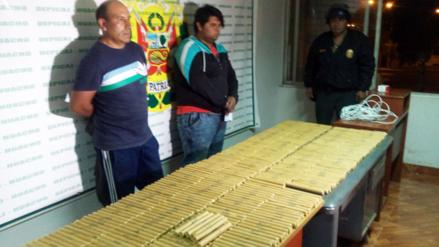 Huaura: incautan más de 400 cartuchos de dinamita