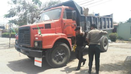 Obrero muere aplastado por volquete de la municipalidad de Pomalca