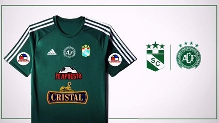 En honor a Chapecoense: Sporting Cristal jugará ante Municipal con camiseta verde