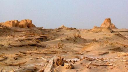Hallan el esqueleto de un chino que se perdió en el desierto hace medio siglo
