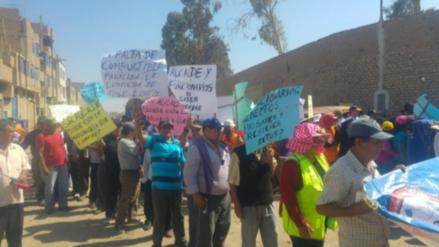 Chiclayo: obreros JLO retoman sus protestas por sueldos atrasados
