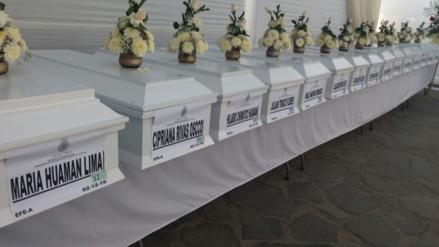 Ayacucho: entregan 36 restos de víctimas en los tiempos de violencia