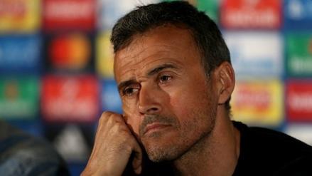 Luis Enrique: El partido ante Real Madrid, no es determinante para el título