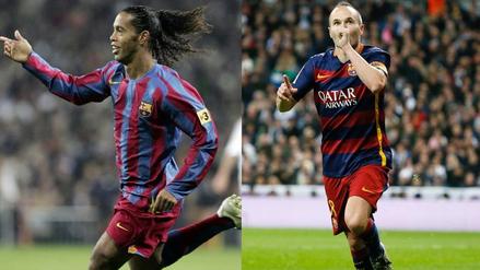 El día que Ronaldinho e Iniesta fueron aplaudidos en el Santiago Bernabéu